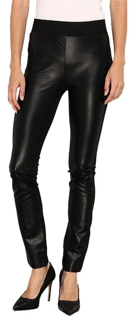 Preload https://item2.tradesy.com/images/black-nydj-mixed-media-faux-leather-ponte-leggings-size-2-xs-26-2186516-0-0.jpg?width=400&height=650