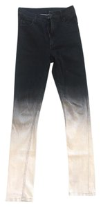 Cheap Monday High-waisted Ombre Skinny Jeans-Medium Wash