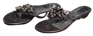 Kenneth Cole Silver Sandals