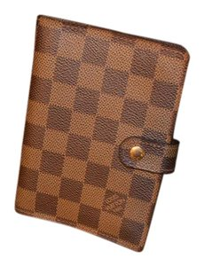 Louis Vuitton Monogram Damier Ebene DE Agenda PM Planner Excellent Condition!