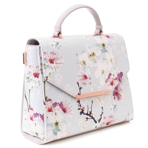 86e1b787c Added to Shopping Bag. Ted Baker Tote in Light Grey. Ted Baker Hariot Oriental  Blossom ...