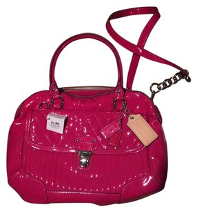 Coach Tote in Hot pink (magenta)