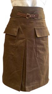 Sfera Mini Skirt brown