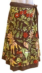 Lucky Brand Skirt Brown/multi-color