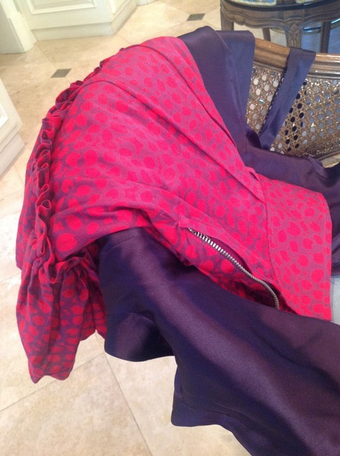 Marc Jacobs Skirt Red and purple