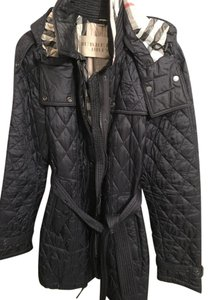 Burberry Quilted Trench Coat