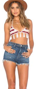Tularosa Denim Shorts-Distressed