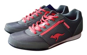 KangaROOS Sneaker Grey & coral Athletic