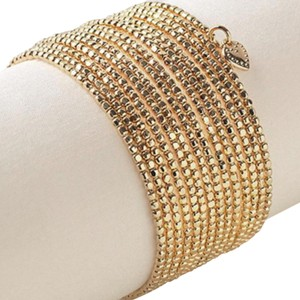 Stella & Dot Stella & Dot Gold Spiral Bangle