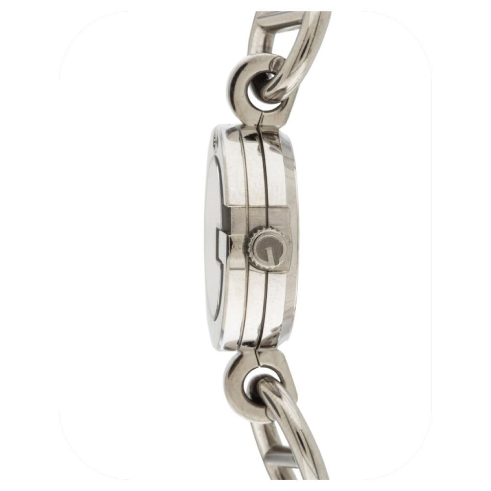 1e317be9b Gucci Silver Stainless Steel 107 Charm Bracelet Watch - Tradesy