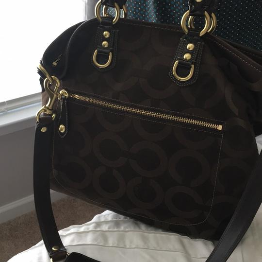 Coach Tote in chocolate brown Image 1