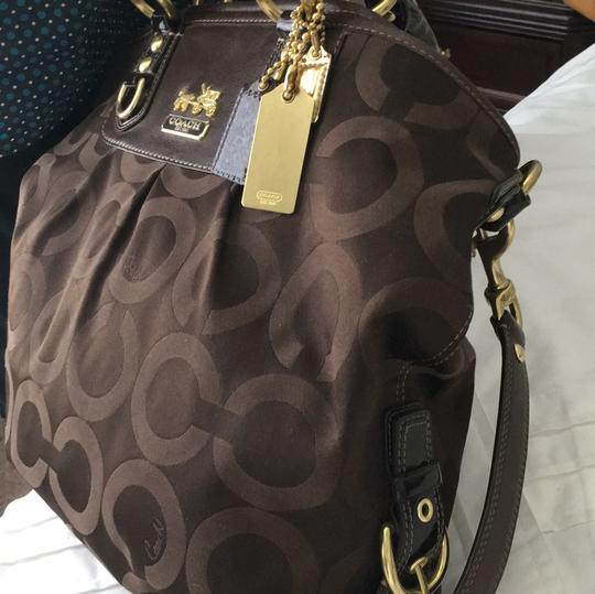 Coach Tote in chocolate brown Image 3