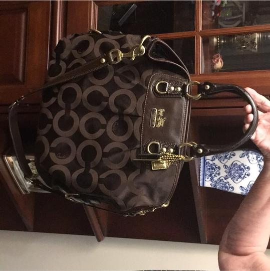 Coach Tote in chocolate brown Image 6