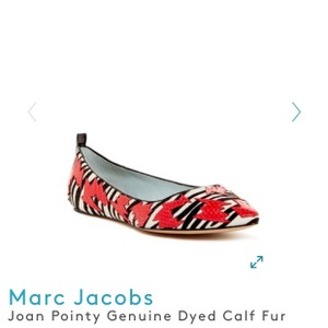 Marc Jacobs Black, Red, White, Zebra Flats