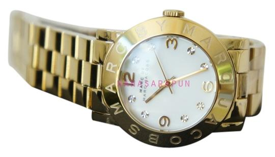 Marc by Marc Jacobs Marc by Marc Jacobs MBM3056 Gold tone White dial Crystal Watch, Needs battery