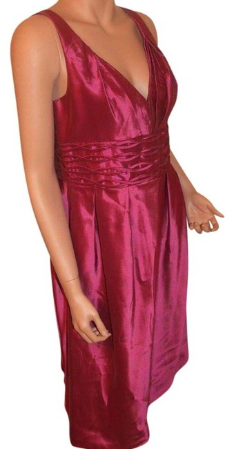 Item - Magenta Collection Mid-length Cocktail Dress Size 10 (M)