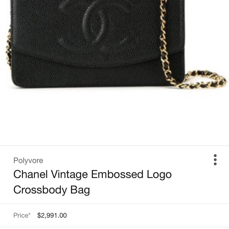 b97451b6d Chanel Timeless Wallet on Chain Shoulder Caviar Leather Woc Flap ...