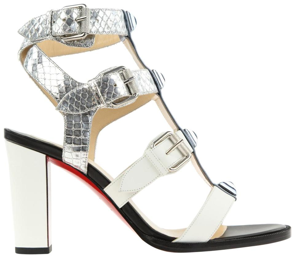Christian Louboutin Multicolor Pat/Calf/Lame Rocknbuckle 85 Met Pat/Calf/Lame Multicolor Sir/Pat Sandals 4255a5