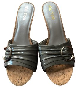 Me Too grey silver Sandals