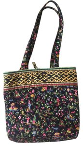Vera Bradley Tote in black/ multicolor
