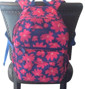 Vera Bradley Pattern Canvas Backpack