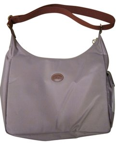 Longchamp Le Pliage Hobo Crossbody Clay Messenger Bag