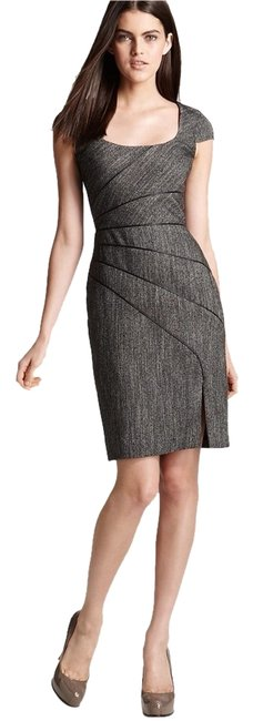 Preload https://item3.tradesy.com/images/black-halo-dress-charcoal-grey-tweed-2187082-0-0.jpg?width=400&height=650