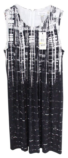 Calvin Klein short dress black and white Summer Party on Tradesy