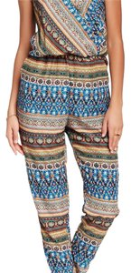 Romeo & Juliet Couture Straight Pants blue and misc.