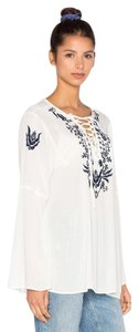 RAGA Embroidered Hippie Peasant Tunic