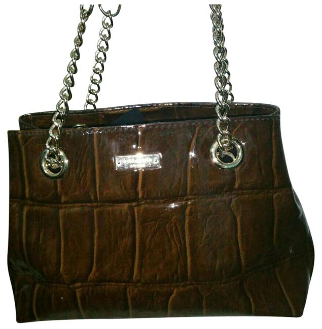 Item - Helena Purse Brown Chocolate Patent Leather Tote