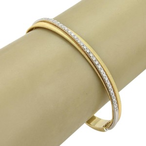 Marco Bicego Cairo 18k Gold Double Band Cuff Bangle Bracelet