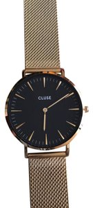 Cluse La Boheme Mesh Gold/Black - Model CL18110