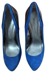 BCBGeneration Cobalt And Gray Pumps