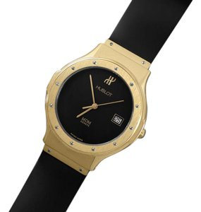 Hublot Hublot MDM Full Size 36mm Mens Watch with Papers - 18K Gold