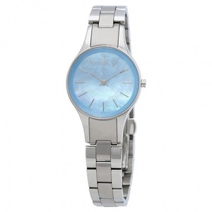 Calvin Klein Simplicity Blue Mother Of Pearl Dial Quartz Ladies Watch