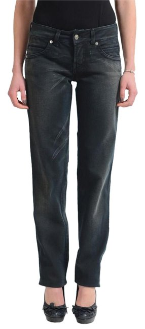 Item - Gray Distressed Couture Women's Stretch Straight Leg Jeans Size 28 (4, S)