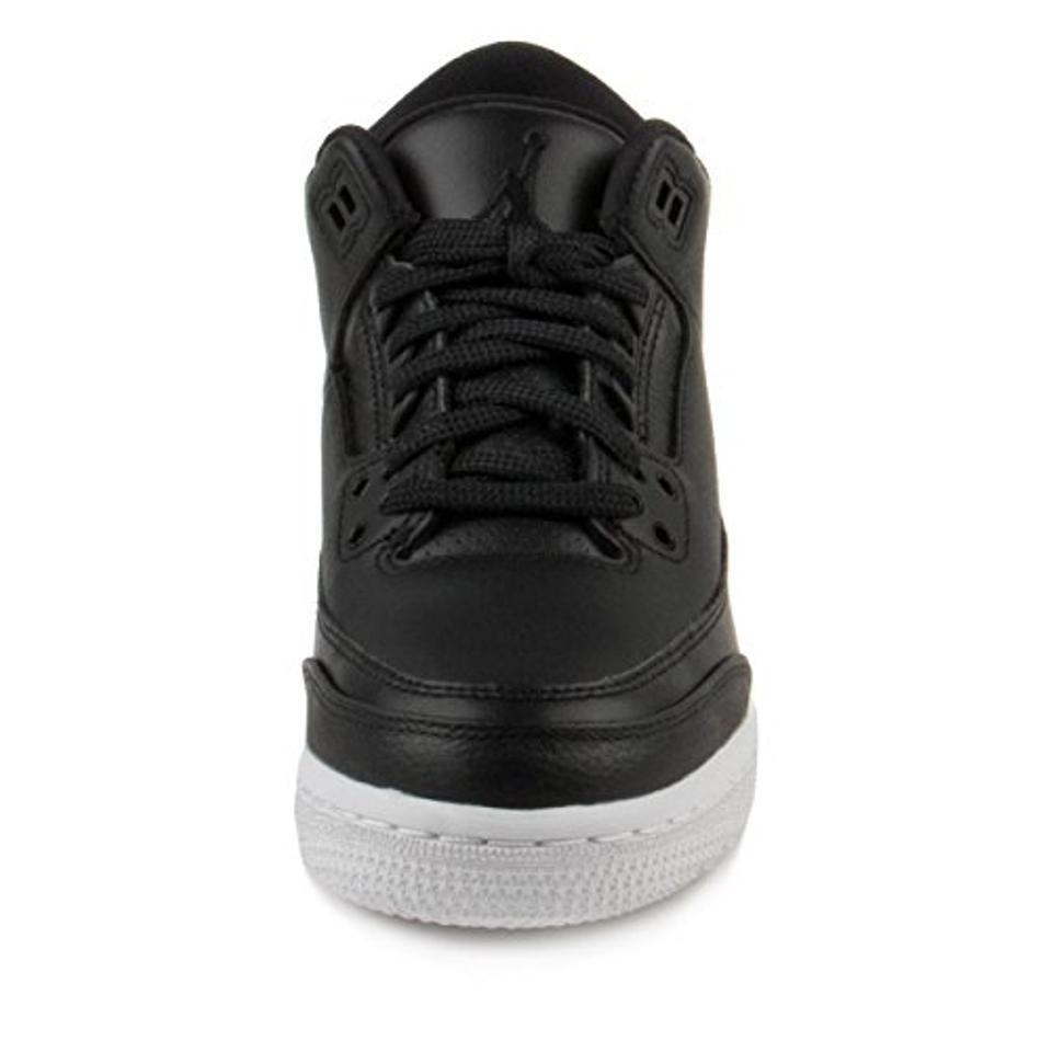 e61883342a9 Air Jordan Retro 3 To School Sale Basketball Gift For Kids Black Athletic  Image 4. 12345