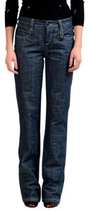 CoSTUME NATIONAL Trouser/Wide Leg Jeans-Distressed