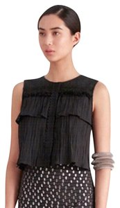 SALONI Lined Top Black