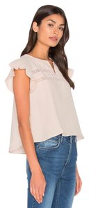 ANINE BING Unlined Top Light pink