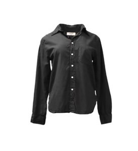 NSF Button Down Shirt Black