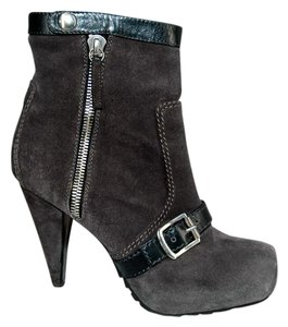 Proenza Schouler Ankle Round Toe Gray Boots