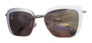 MIU MIU MIU MIU Women's Metal Cat Eye Sunglasses