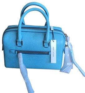 Marc Jacobs Leather Blue Satchel in Azur