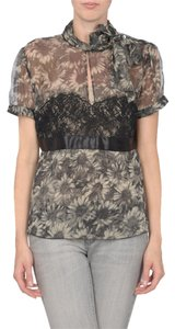 RED Valentino Top gray/black