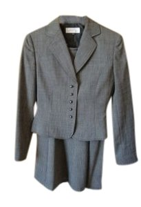 Elie Tahari Tahari Lined Patterned skirt suit