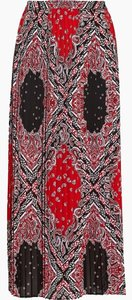Michael Kors Medium Nwt Bandana Maxi Skirt Multicolor