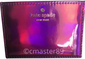 Kate Spade Rainer Lane Baja Rose Iridescent Card Holder