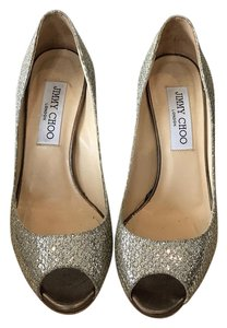Jimmy Choo champagne Formal